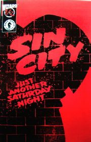 Sin City Just Another Saturday Night Wizard #1/2 COA Dark Horse comic book